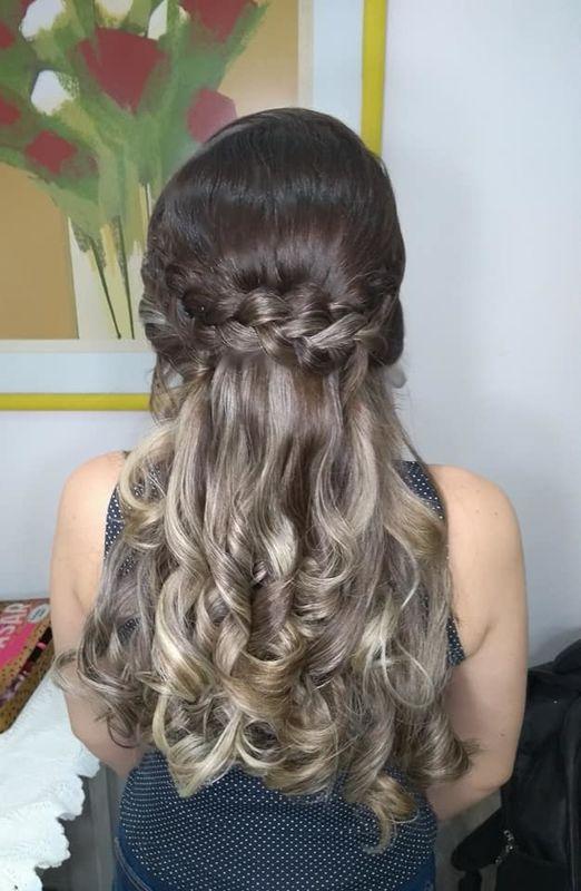 Joyce Nascimento makeup and hair