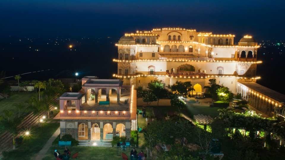 Neemrana Tijara Fort Palace