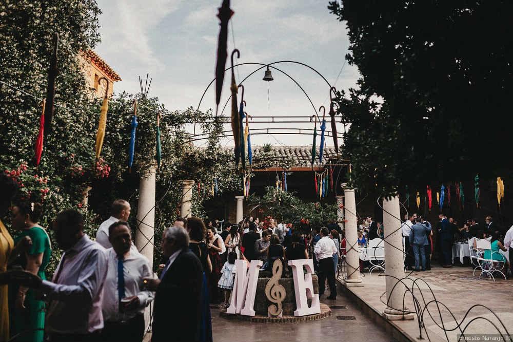 Transcurso del cóctel en el Palacio de la Serna