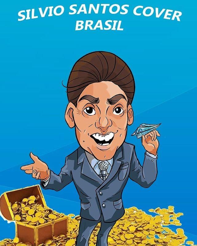 Silvio Santos Cover Brasil
