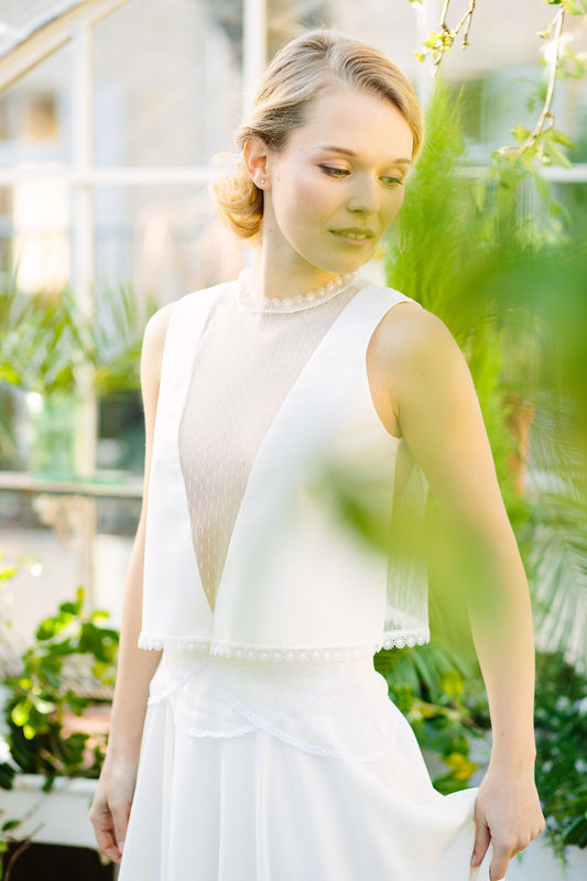 Amandine Grimm- collection 2017- Top+jupe Lili of the Valley