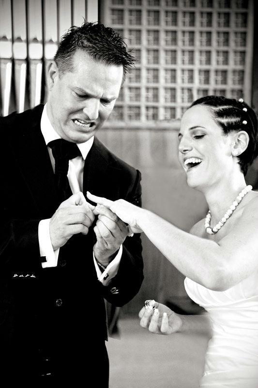 Beispiel: Fotos von der Trauung, Foto: Hochzeit Fotograf Thomas Hinder.