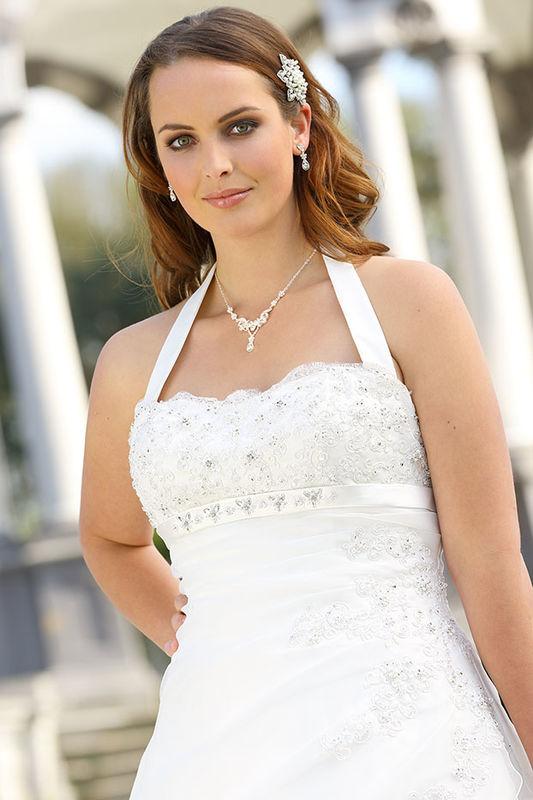 Beispiel: Brautmode, Foto: Braut Atelier Blendel.