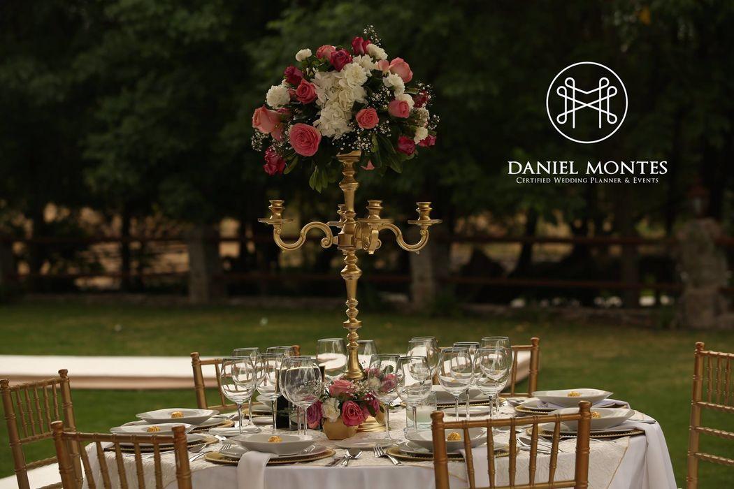 Daniel Montes Certified Wedding Planner & Events