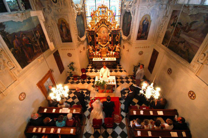 Beispiel: Schlosskapelle, Foto: Schloss Seggau.