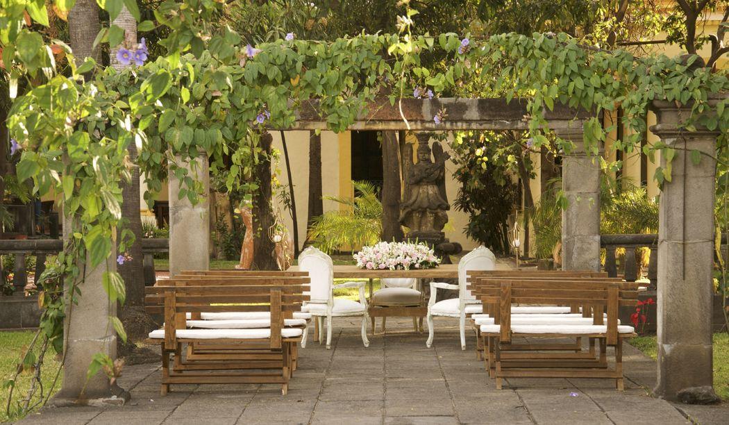 Casa sauza bodas for Carpas para jardin baratas