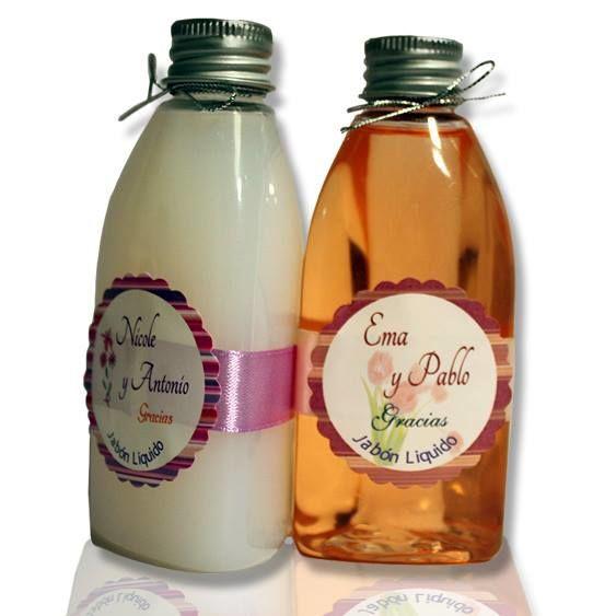 Jabón líquido personalizado