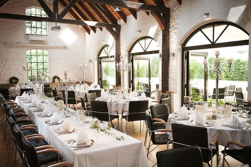 Beispiel: Hochzeitstafel, Foto: Schloss Grünewald.