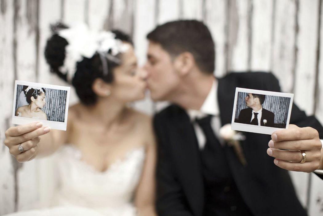 künstlerisches Hochzeitsfoto