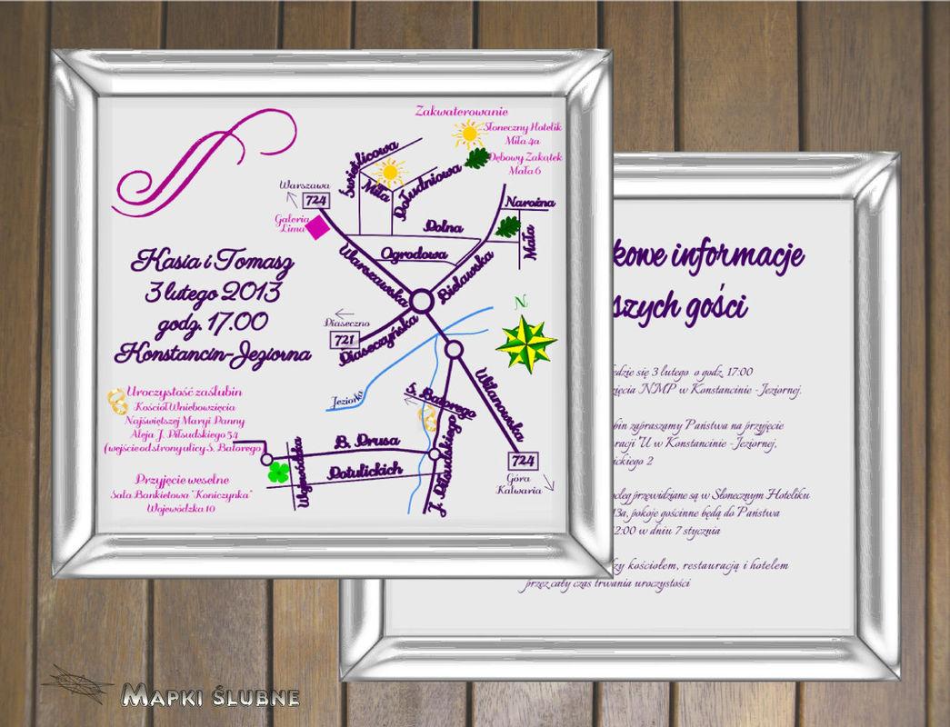 Star-Graf Mapki ślubne