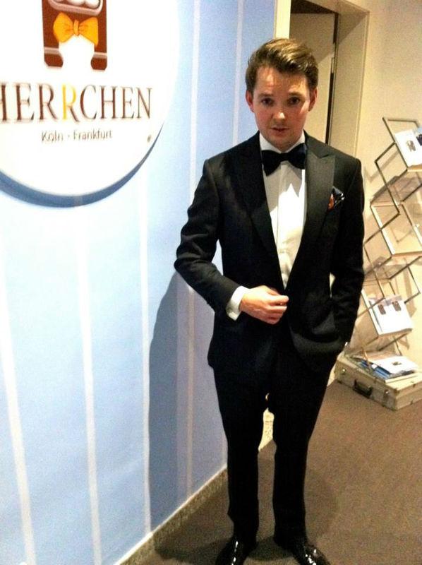 Beispiel: Der Anzug für den perfekten Tag, Foto: Herrchen.