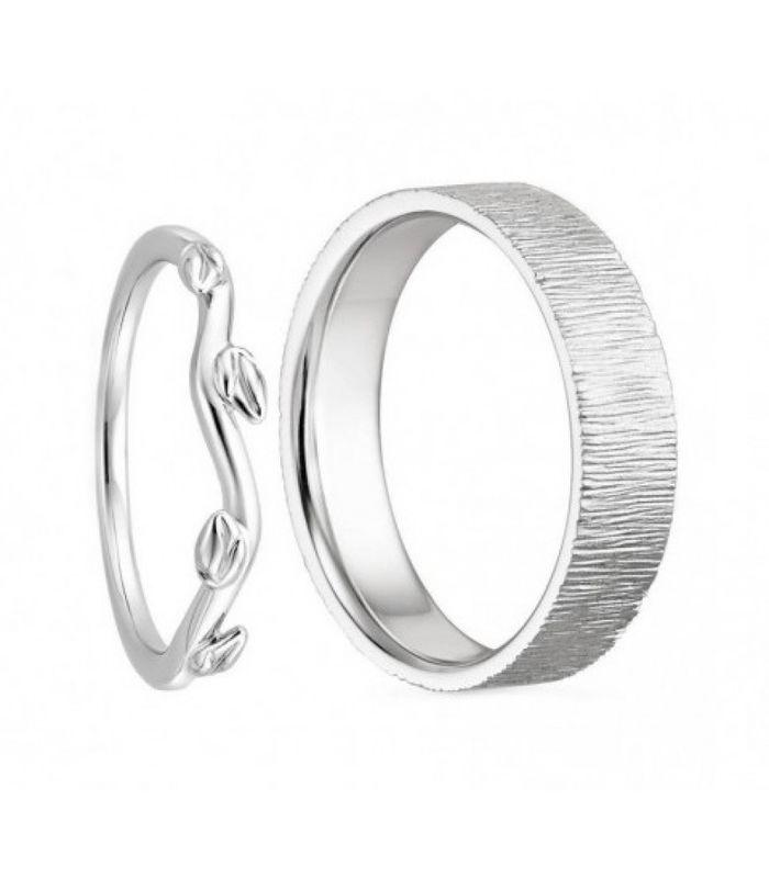 Обручальные кольца на заказ CHUVSTVA
