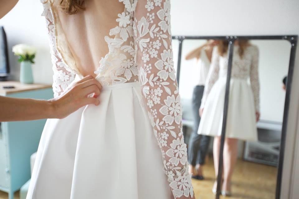 UNE -  Accompagnement Robe & Beauté de la mariée