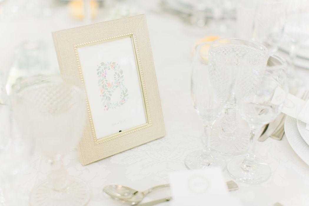 Casamento Ilda & Filipe - Marcador de mesa