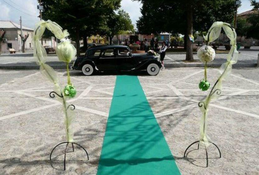 BA.RO.NE L'auto della Sposa
