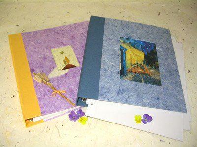 La cigüeña de papel, álbum de fotos