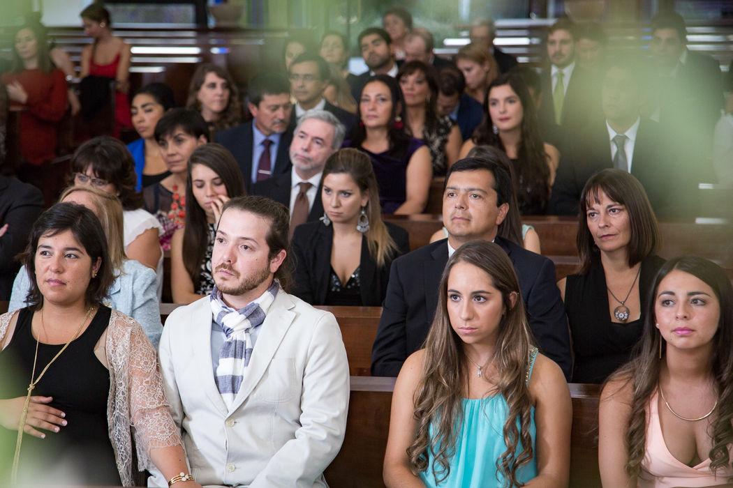 Invitados - Ceremonia religiosa