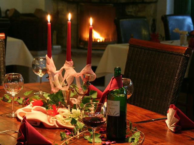 Beispiel: Restaurant - Tischdekoration, Foto: Seewarte.