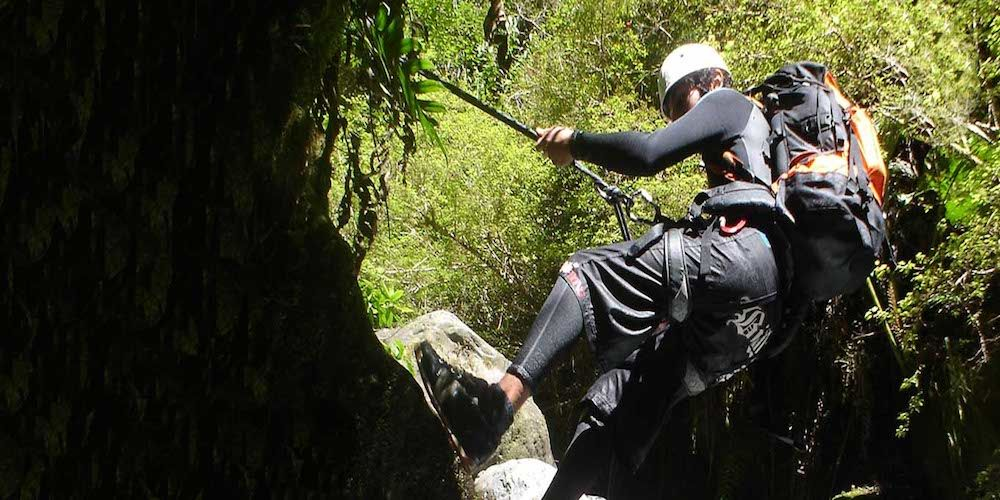 Canyoning Pucón