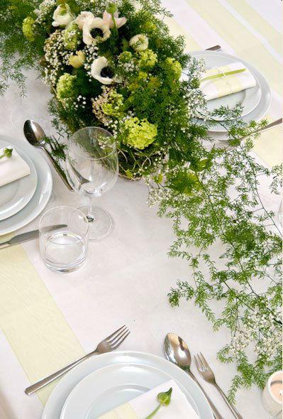 Beispiel: Wunderschöne Tischdekoration, Foto: Einfach Blumen.