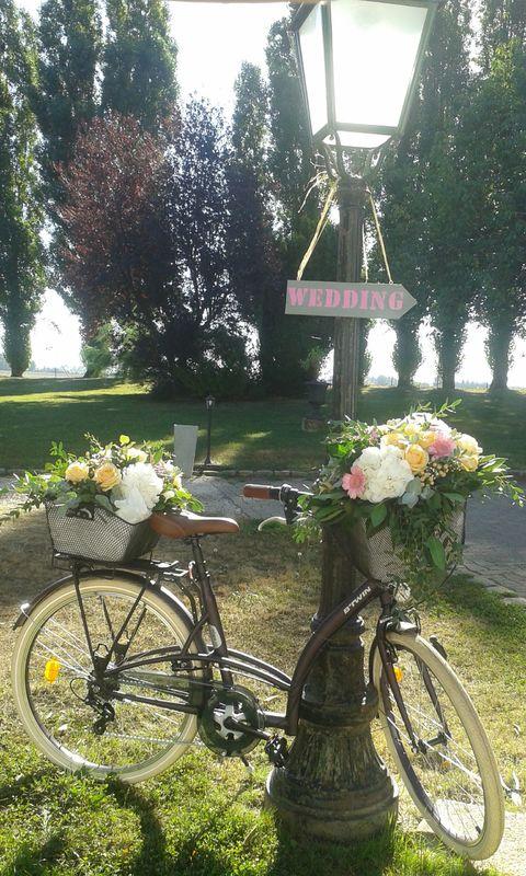 Vélo fleuri/Estelle Leclerc