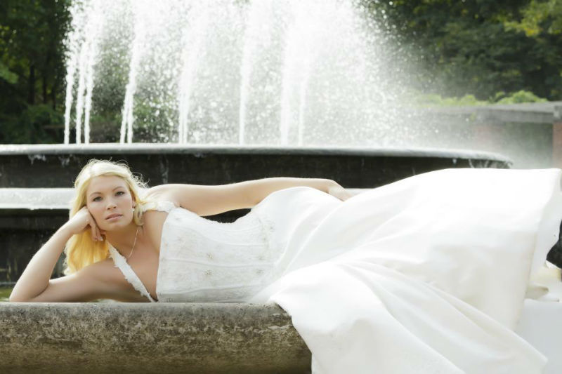 Beispiel: Portrait der Braut, Foto: Alexander Vejnovic.