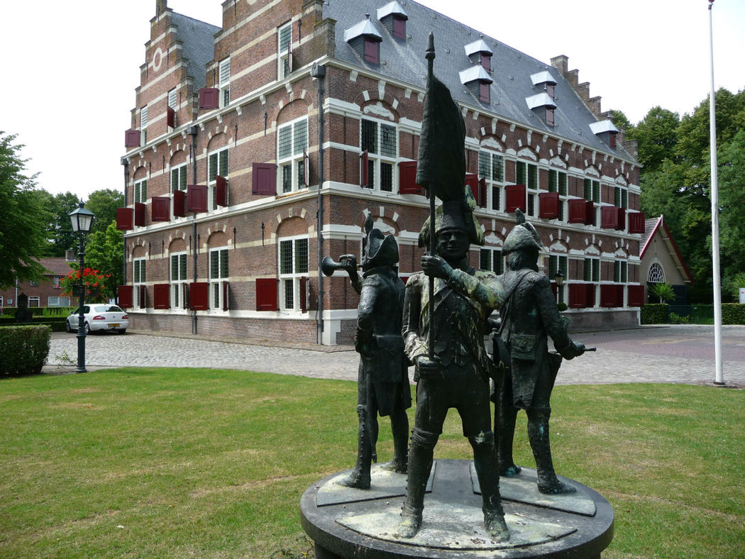 Buitenaanzicht Mauritshuis te Willemstad