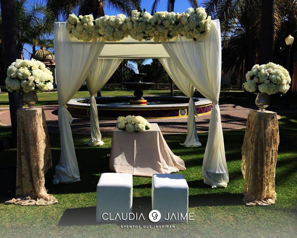 Claudia y Jaime Eventos