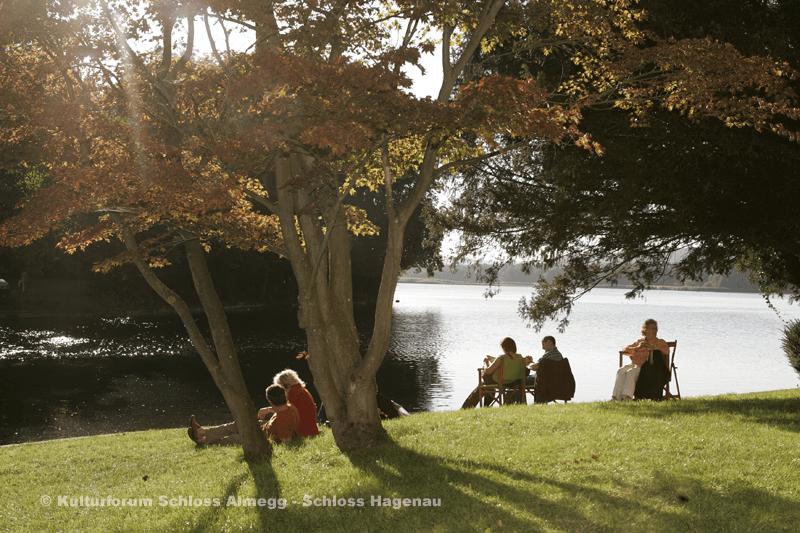 Beispiel: Park, Foto: Schloss Hagenau.