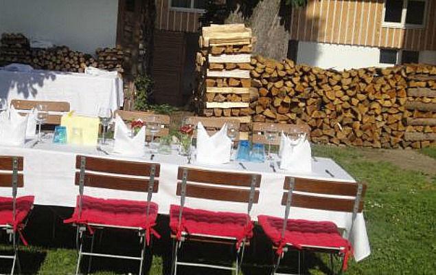 Beispiel: Garten, Foto: Landgasthof Lacherdinger.
