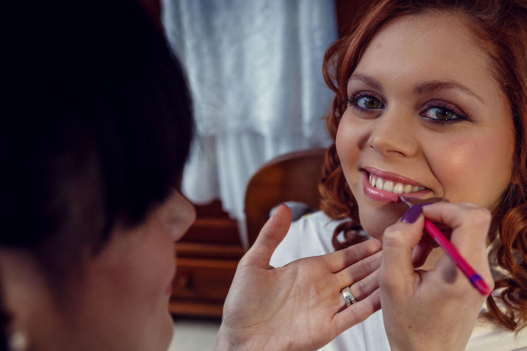 Maquillaje novia ahumado morado. Nuria Villa · Makeup Studio