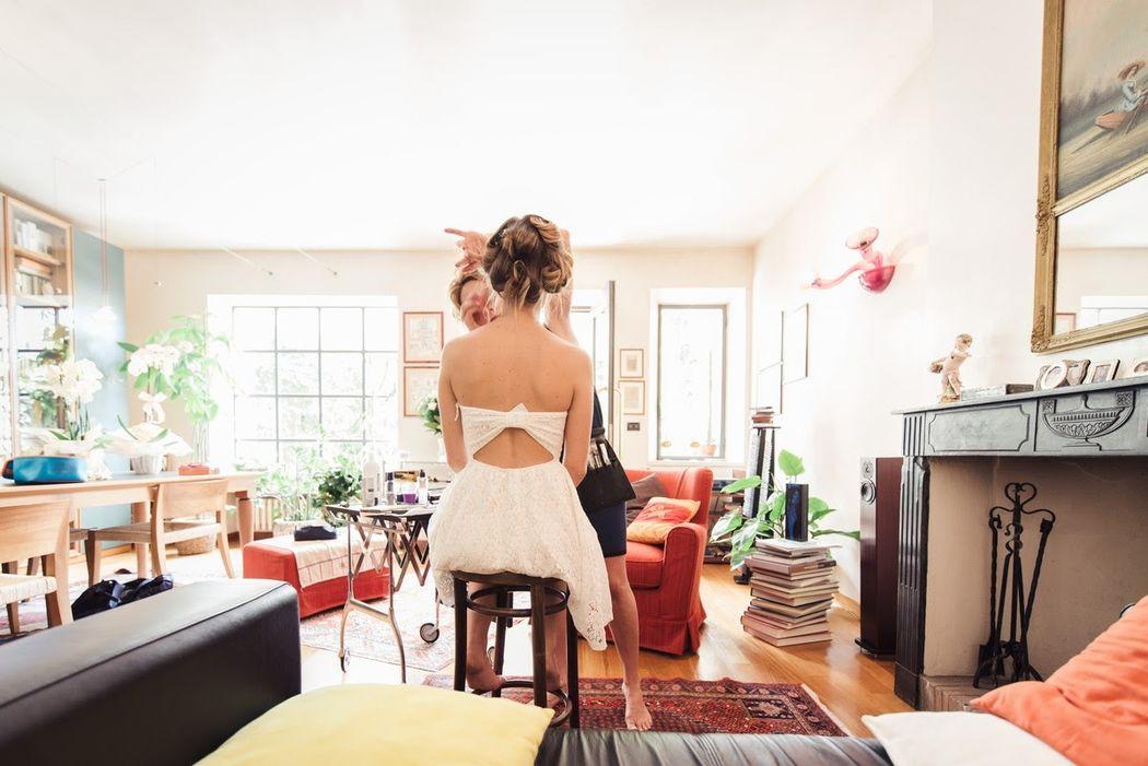 A casa della famiglia della sposa