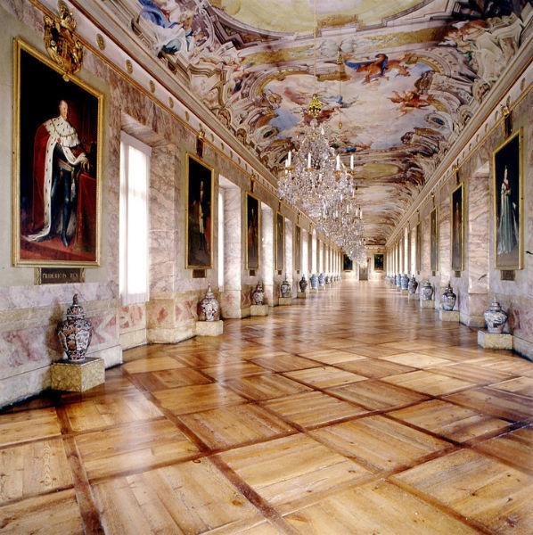 Beispiel: Ahnengalerie, Foto: Schloss Ludwigsburg.
