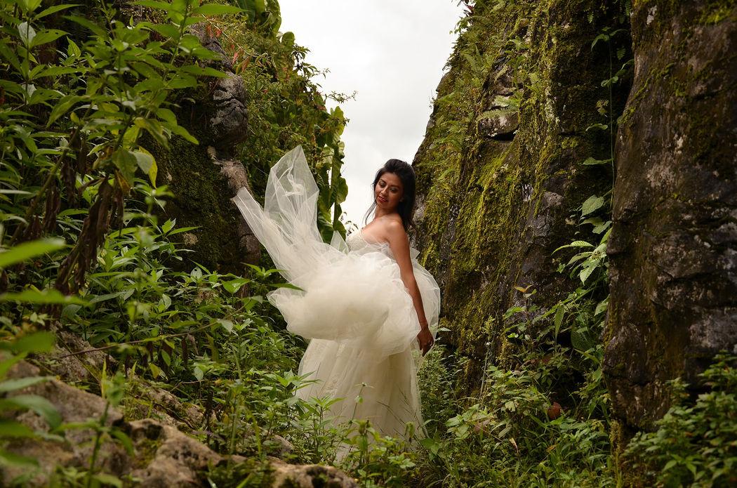 cuetzalan trash the dress