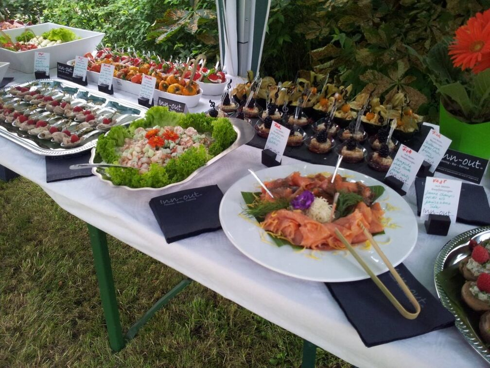 Inn-out Catering leipzig Gartenparty