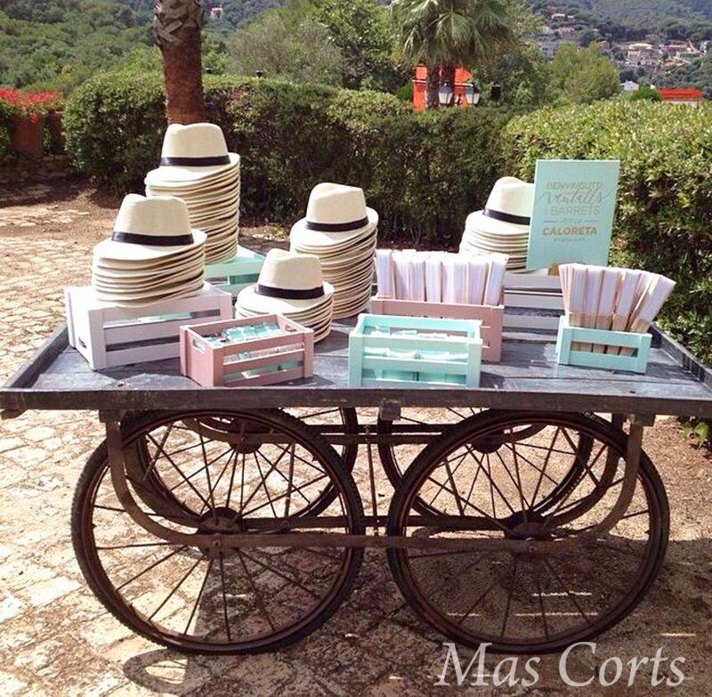 Decoración boda Mas Corts