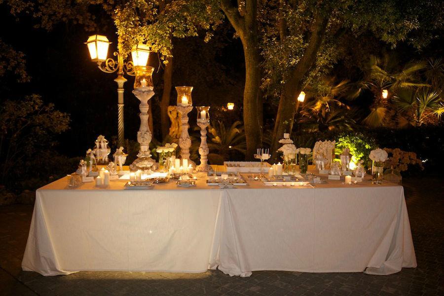 Il dessert table