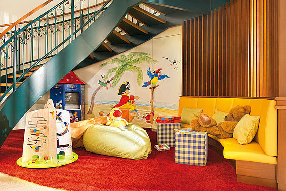 Beispiel: Liebe zum Detail finden Sie im gesamten Hotel - auch in der Kinderecke, Foto: Travel Charme Strandhotel Bansin.