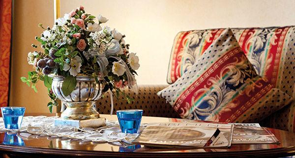 Beispiel: Zimmereinrichtung, Foto: Hotel Landgut Horn.