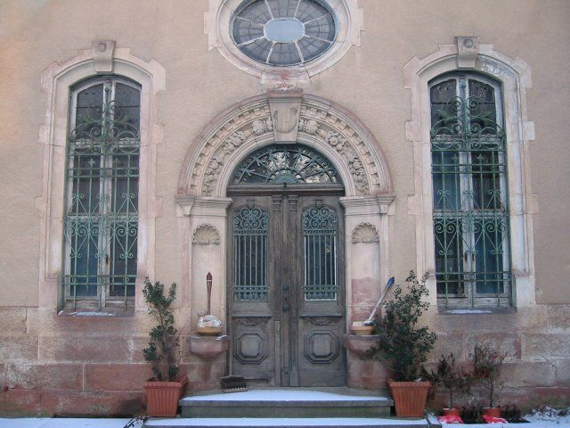 Beispiel: Nebeneingang, Foto: Schloss Beesenstedt.