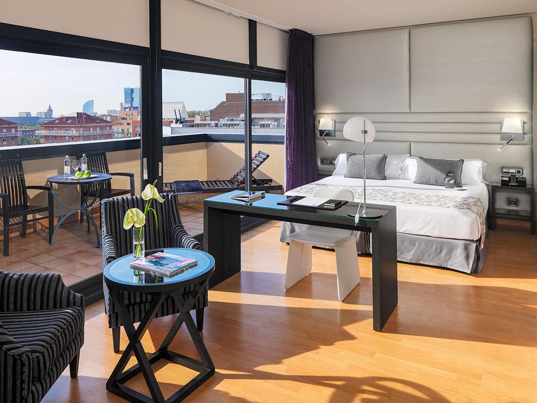 H10 Marina Barcelona - Junior Suite Privilege con terraza