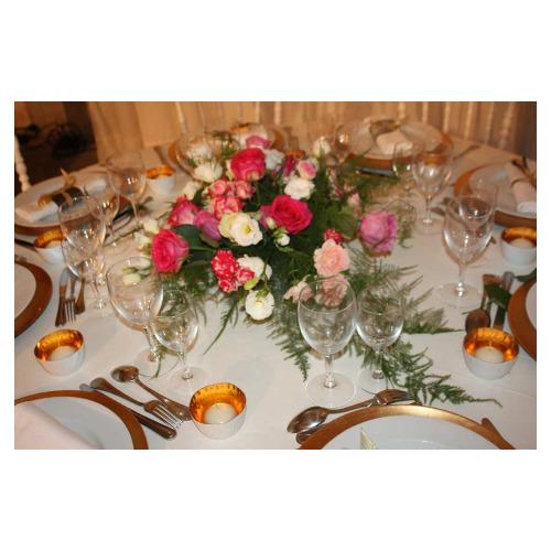 Centre de table romantique - Magie de l'Ephémère