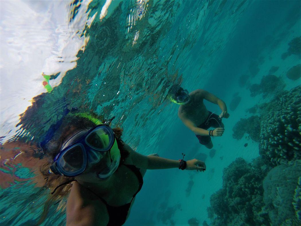 Snorkel en arrecife de coral