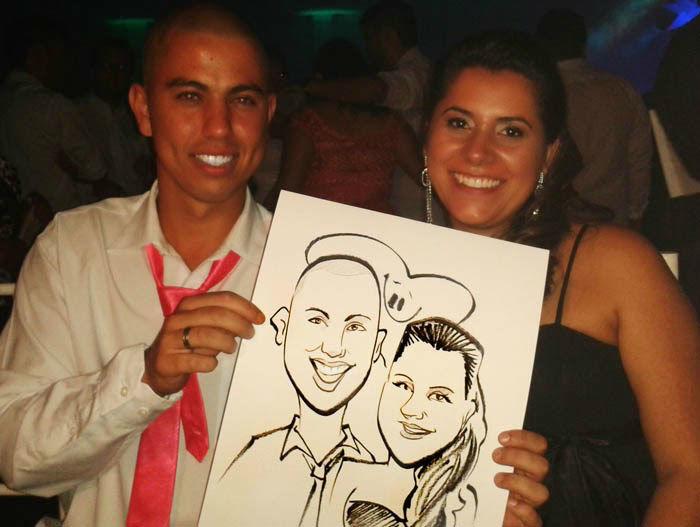 Caricaturista Nil Martins