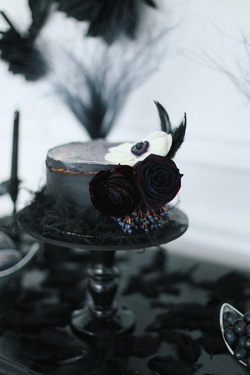 Чёрный торт