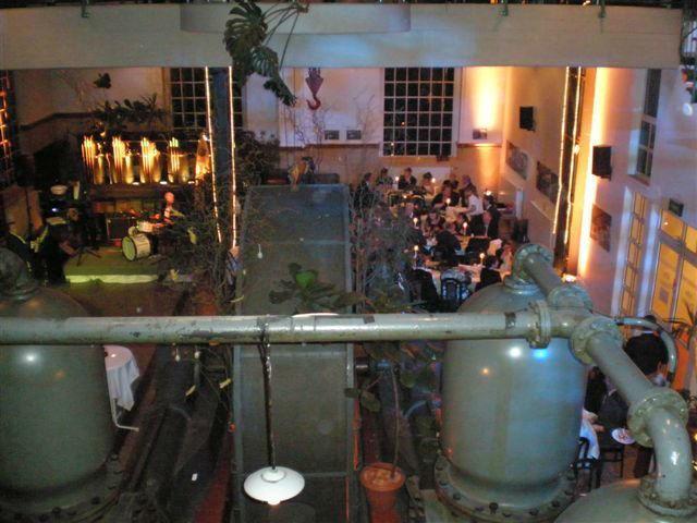 Beispiel: Innenraum - Ansicht von oben, Foto: Alte Pumpe.