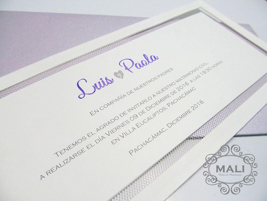 Mali Partes de Matrimonio