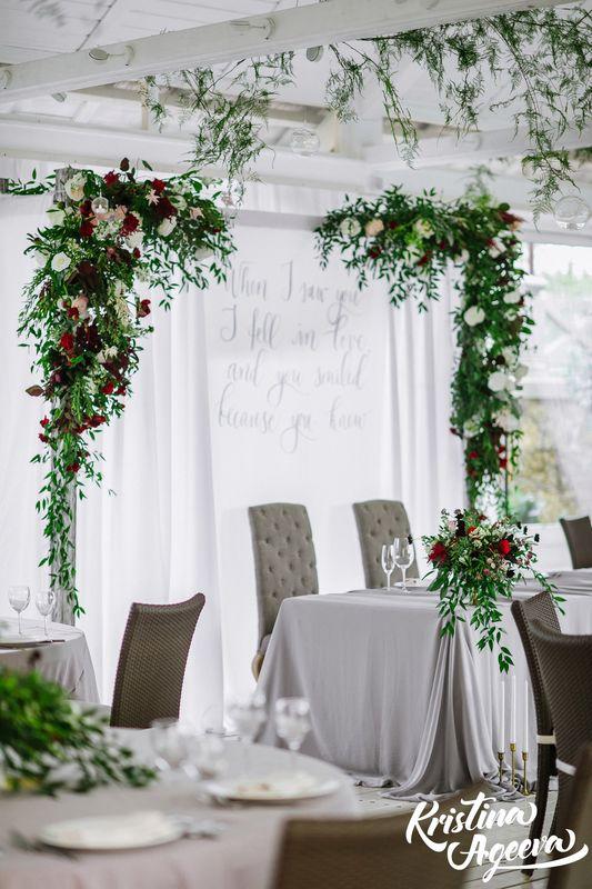 каллиграфия в декоре свадьбы