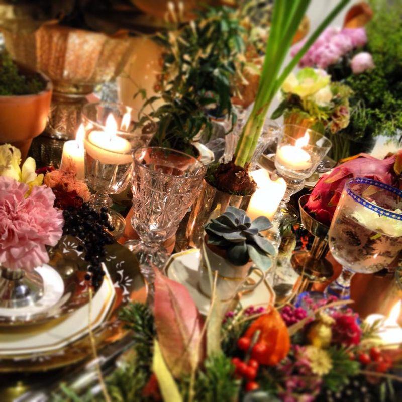 Debeaulieu - décor de table de fête