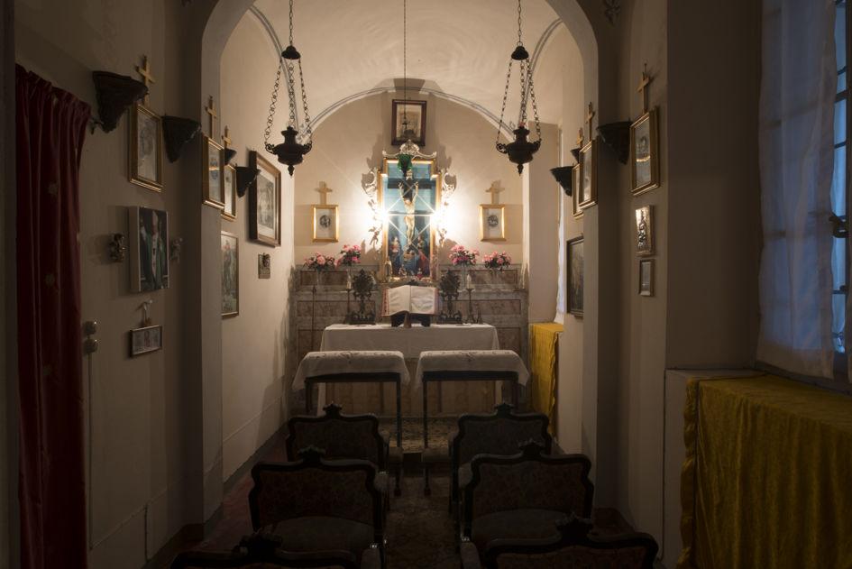 Cappella privata, Villa di Settima